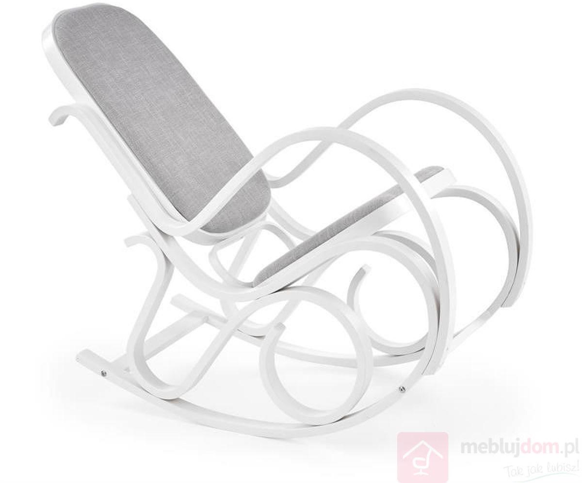 KUPON 10% NA STRONIE  Fotel bujany MAX BIS PLUS Halmar Biały [Wysyłka 2021-11-03]