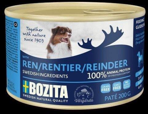 Bozita Pate Reindeer renifer 200g Do każdego zamówienia dodaj prezent. Bez dodatkowych wymagań - tak łatwo jeszcze nie było!