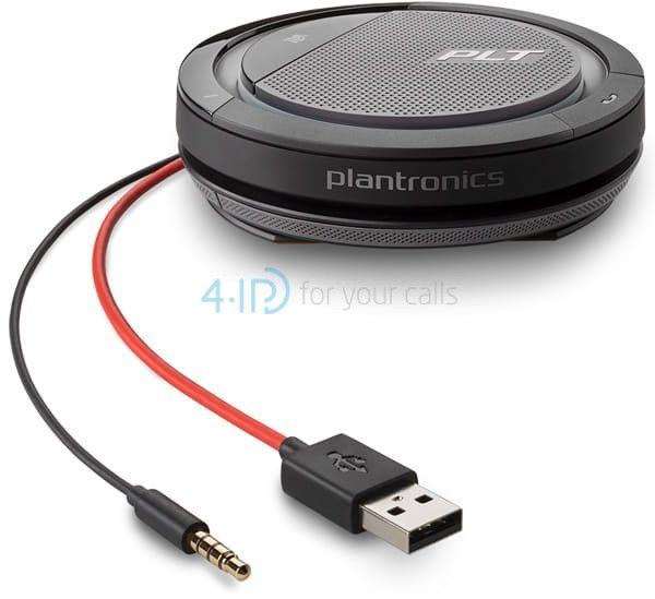 Plantronics Calisto 5200 zestaw głośnomówiący na złącze jack 3.5mm / USB-A (kabel)