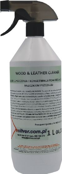 Środek do czyszczenia i konserwacji skóry Wood Leather Cleaner 1L Preparat do pielęgnacji skóry
