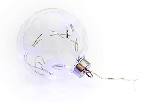 Elektrobilsa dekoracja bożonarodzeniowa, niebieska, duża