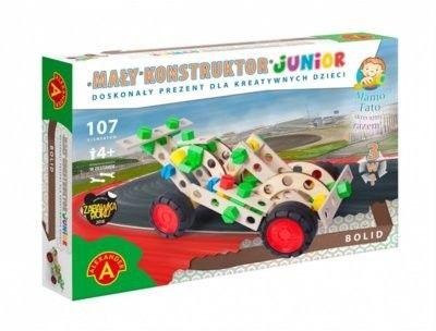 Mały Konstruktor Junior 3 w 1 - Bolid