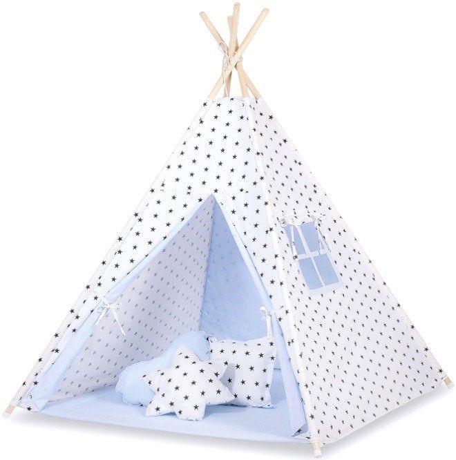 Biało-niebieskie królestwo namiot dziecięcy 757TI-Bobono, Tipi dla dzieci