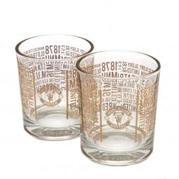 Manchester United - szklanki do whisky