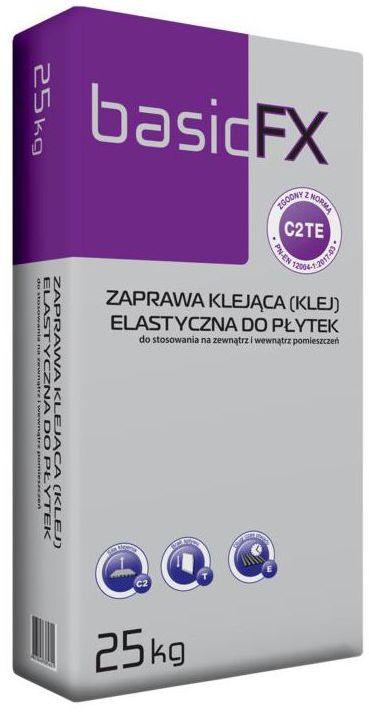 Elastyczny klej do płytek ściennych C2TE 25 kg BASIC FX