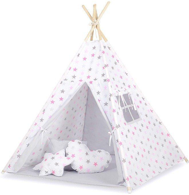 Pastelowy wigwam namiot dziecięcy 764TI-Bobono, Tipi dla dzieci