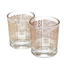 FC Barcelona - szklanki do whisky