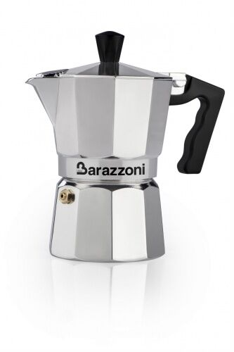 Kawiarka LA CAFFETIERA Barazzoni srebrna