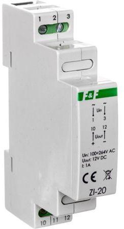 Zasilacz impulsowy 85-264V AC/12V DC 12W 1A DC ZI-20