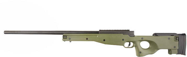 Karabin snajperski ASG MB01 - oliwkowy (WEL-03-016971) G