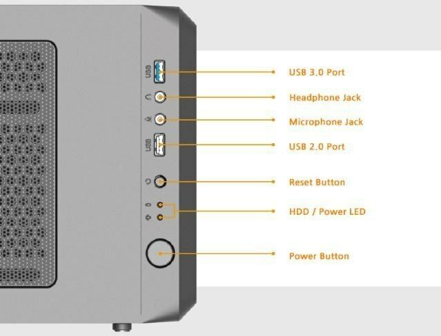 Zalman Obudowa S4 ATX Mid Tower PC Case 120mm fan