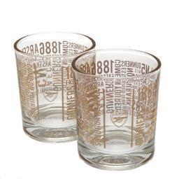 Arsenal Londyn - szklanki do whisky