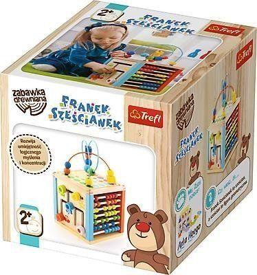 Zabawka drewniana - Franek Sześcianek TREFL