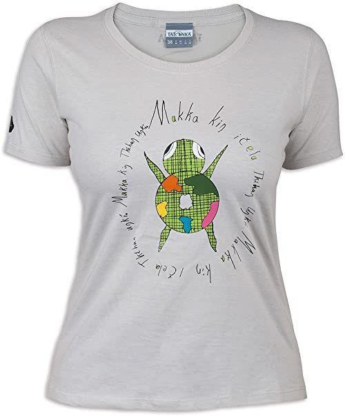 Tatonka Damska koszulka Makha, srebrno-szara, 38, C163_734