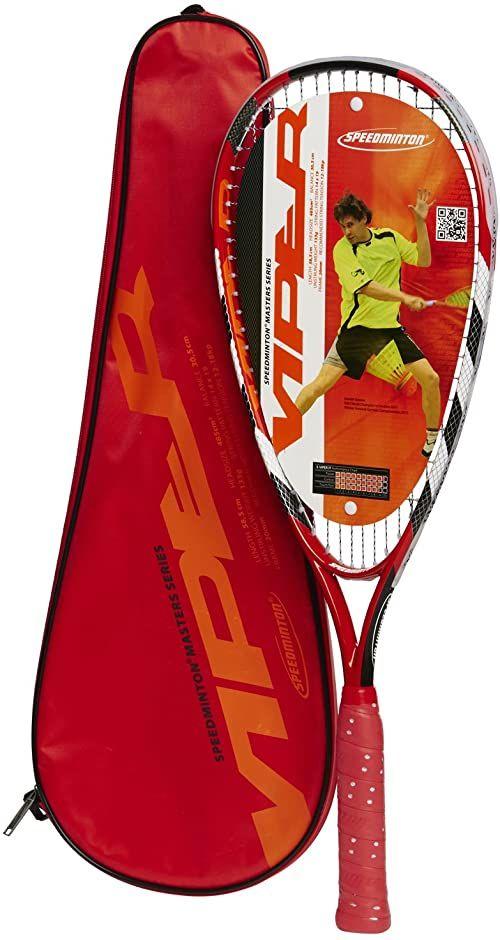 Speedminton  Racket Viper  rakieta turniejowa w zestawie z torbą na rakietę