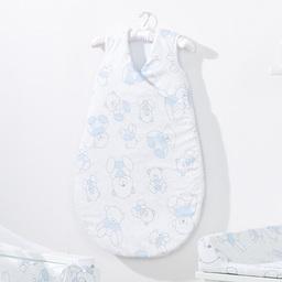 MAMO-TATO Śpiworek niemowlęcy do spania Bubble Misie niebieskie