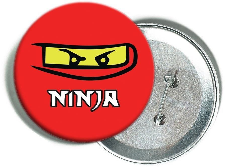 Przypinka Ninja - 1 szt.