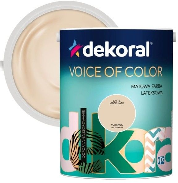 Farba Dekoral Voice of Color latte macchiato 5 l