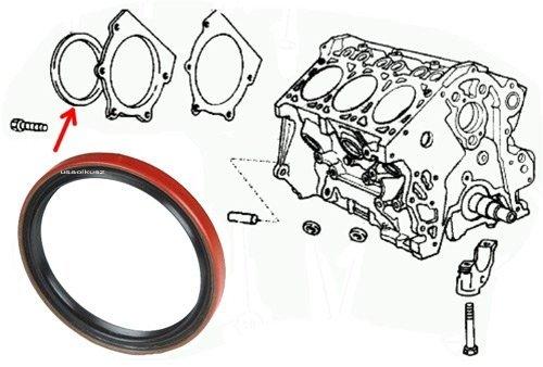 Uszczelniacz wału tył silnika Chrysler LeBaron