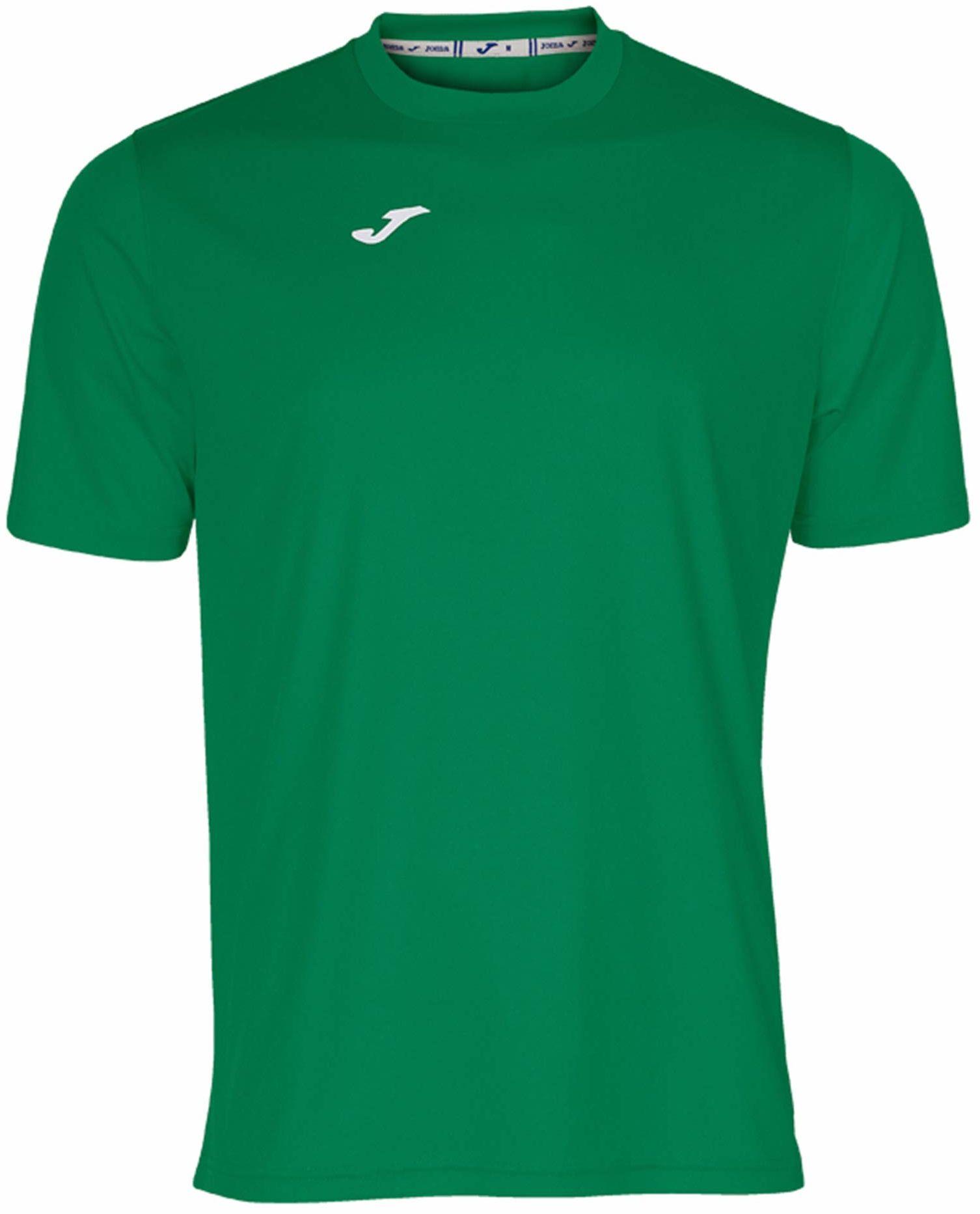 Joma męska koszulka 100052.450 Joma 100052.450 z krótkim rękawem - zielony/zielony, 2X-mały Green/Green L