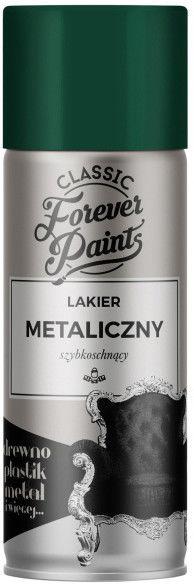 Lakier metaliczny szybkoschnący Forever Paints 400 ml zielony