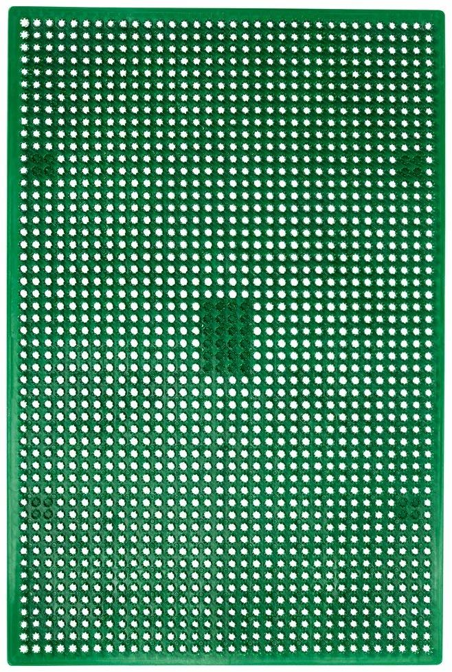 Novus wycieraczka do użytku na zewnątrz, polietylen, zielony, 40 x 60 cm