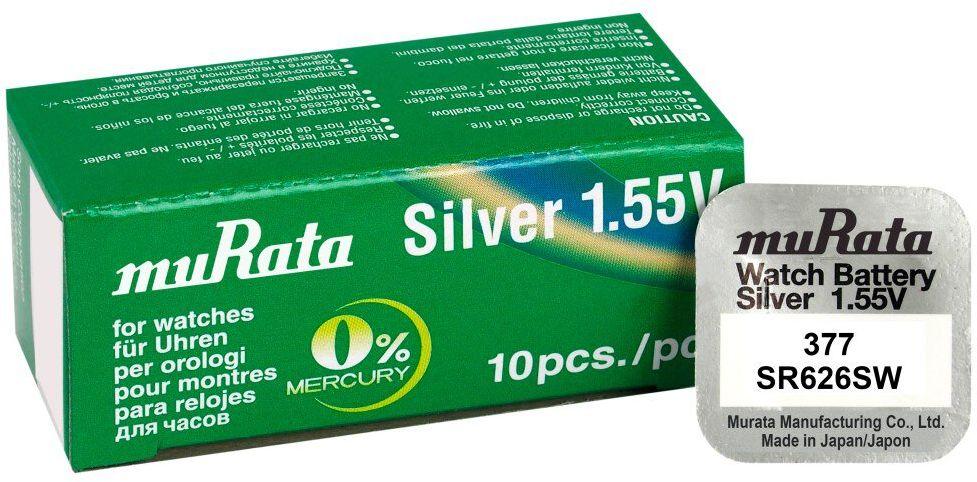 bateria srebrowa mini Murata 377 / SR626SW / SR66