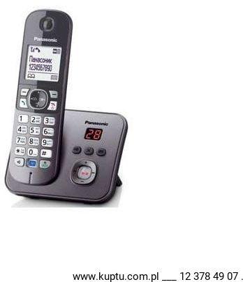 KX-TG6821PDM, telefon bezprzewodowy DECT