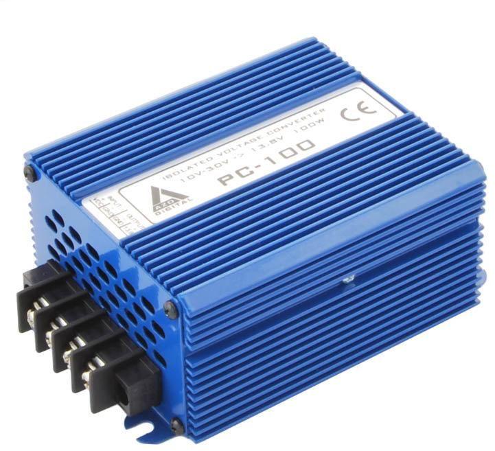 Przetwornica napięcia 10 30 VDC / 13.8 VDC PC-100-12V 100W IZOLACJA GALWANICZNA