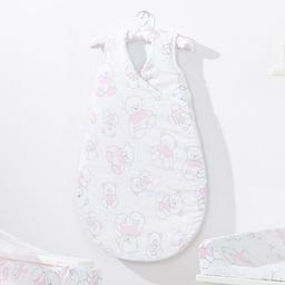 MAMO-TATO Śpiworek niemowlęcy do spania Bubble Misie róż