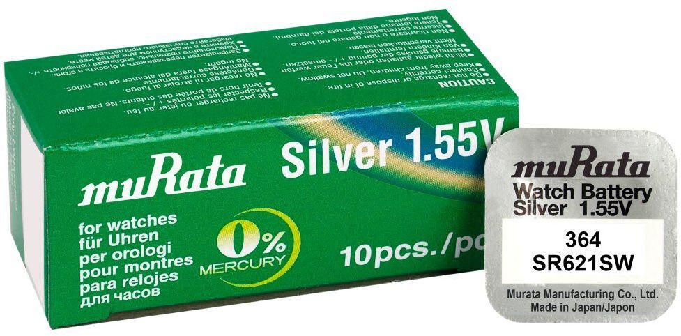 bateria srebrowa mini Murata 364 / SR621SW / SR60