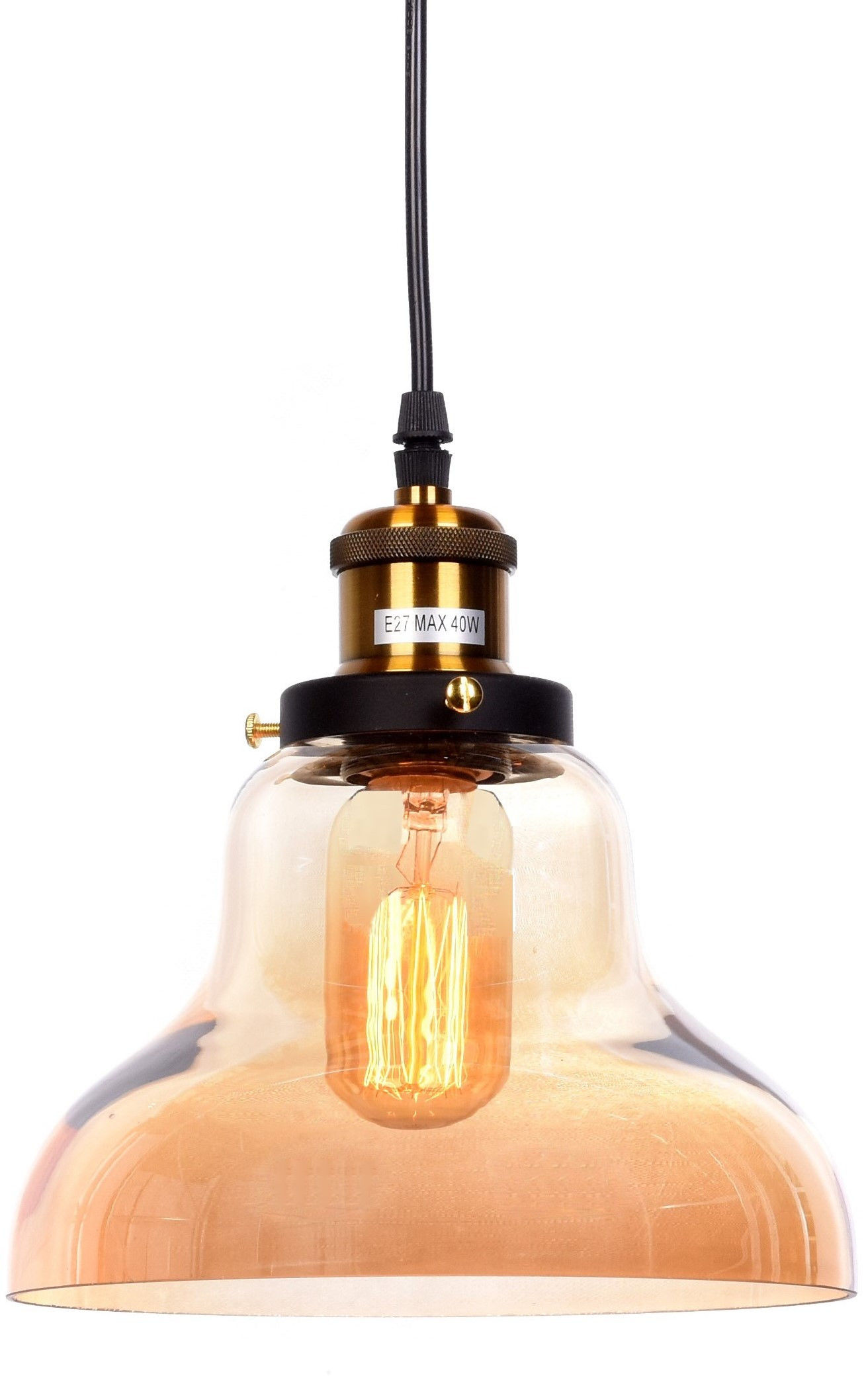 LAMPA WISZĄCA LOFT BURSZTYNOWA ZUBI