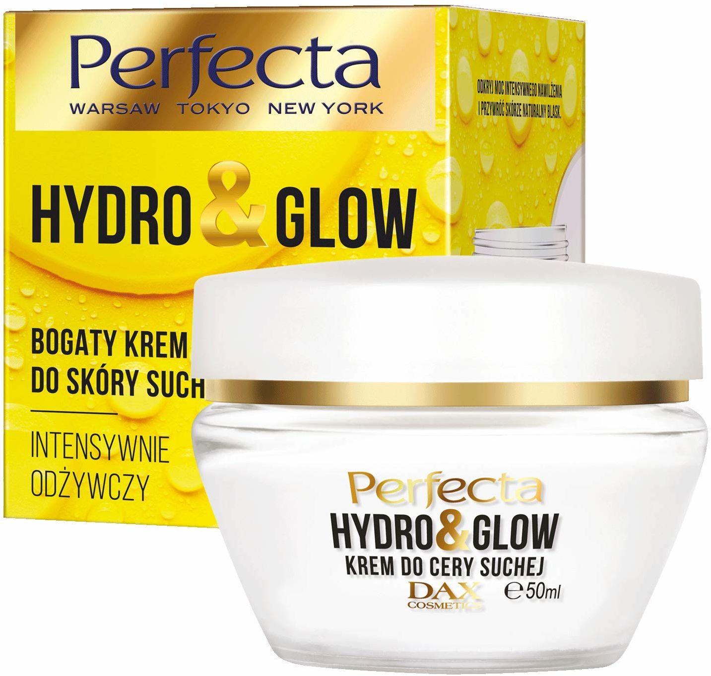 Perfecta Hydro&Glow Bogaty krem do skóry suchej intensywnie odżywczy