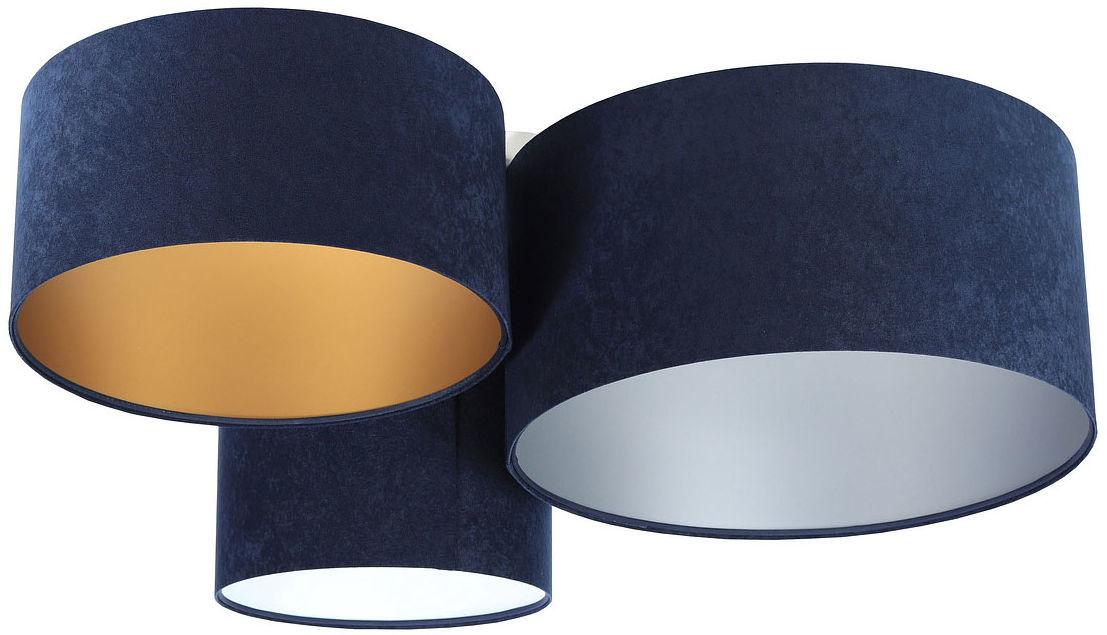 Nowoczesny welurowy plafon nad stół - EXX51-Lomira