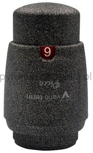 Głowica termostatyczna M30x1,5 PICCO MINI - ciemny grafit strukturalny
