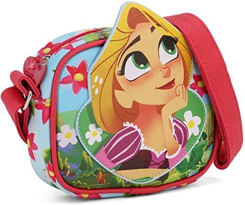 Karactermania Rapunzel Listen-Basic Square Go Shoulder Bag torba na ramię, 18 cm, zielona (zielona)