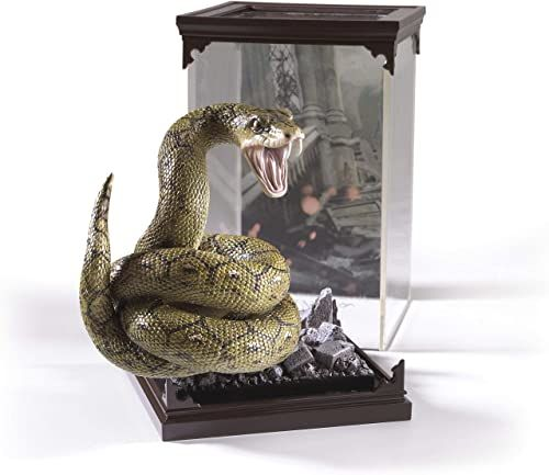 The Noble Collection - Magical Creatures Nagini - Hand-Painted Magical Creature #9 - Officially Licensed 7in (18.5cm) Harry Potter Toys - High Quality Collectable Figures - For Kids & Adults