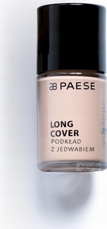 PAESE - LONG COVER - Lekki podkład z jedwabiem o przedłużonym działaniu - 02N