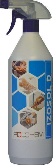 Płyn do dezynfekcji rąk na bazie alkoholu Izosol butelka ze spryskiwaczem 1L Środek do dezynfekcji dłoni Izosol