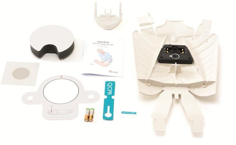 Update kit  rozbudowa Little Anne do Little Anne QCPR