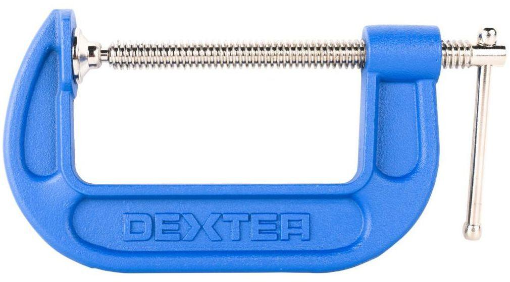 Ścisk stolarski Typ C 100 mm Dexter