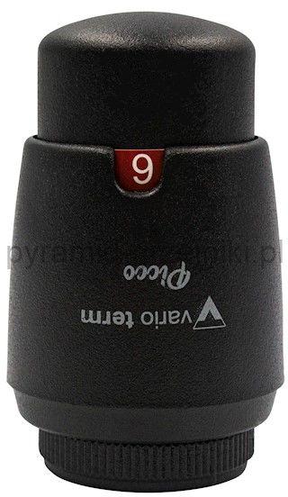 Głowica termostatyczna M30x1,5 PICCO MINI - czarny strukturalny