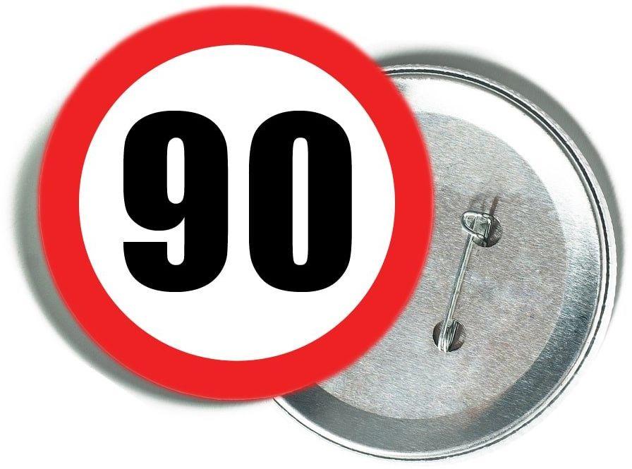 Przypinka Znak Zakazu 90 - 1 szt.
