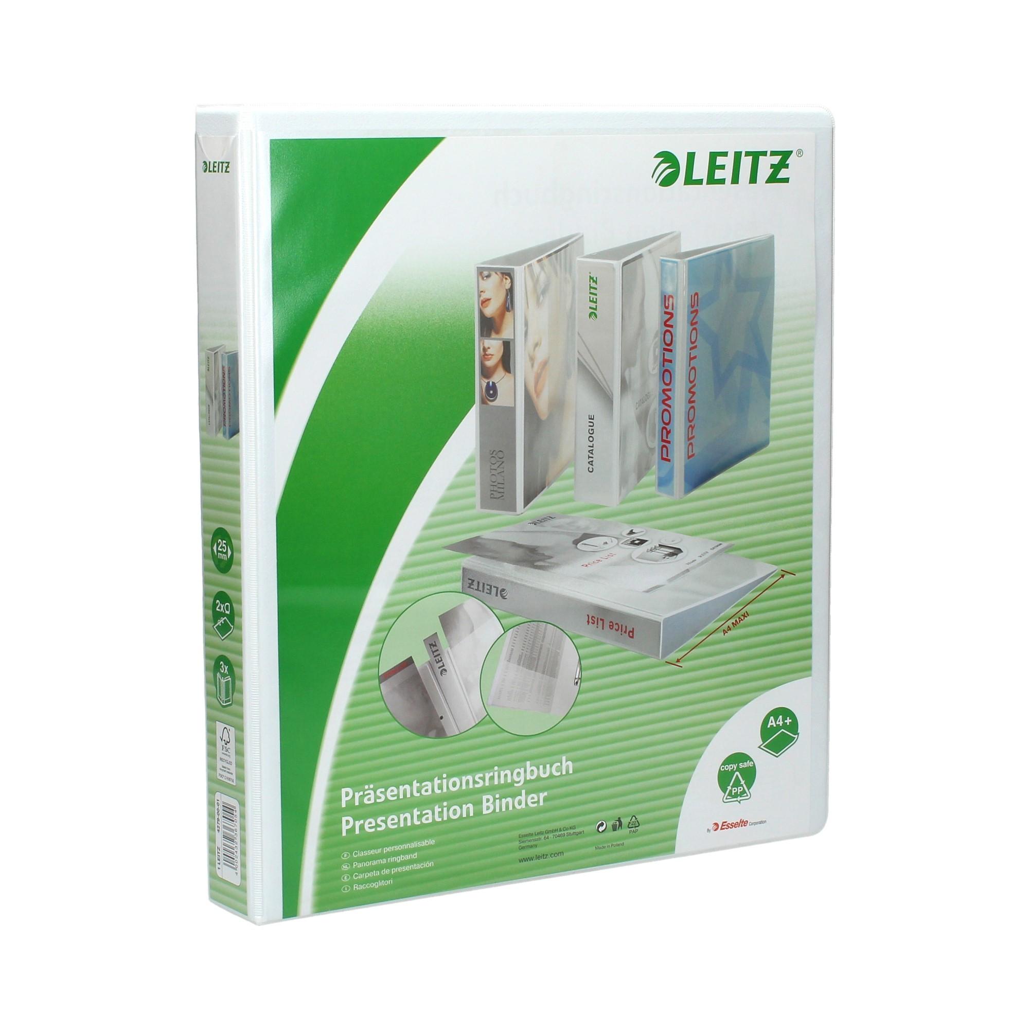 Segregator A4/44/2DR biały Panorama maxi Leitz