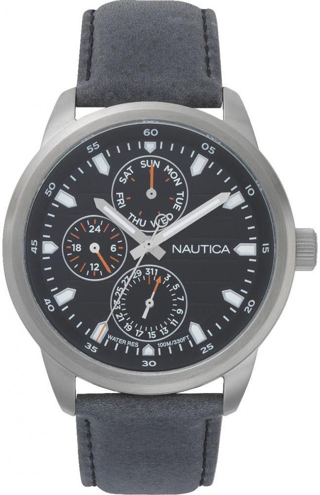 Zegarek Nautica NAPFRL003 Forbell Multifunction Water Resistant Watch - CENA DO NEGOCJACJI - DOSTAWA DHL GRATIS, KUPUJ BEZ RYZYKA - 100 dni na zwrot, możliwość wygrawerowania dowolnego tekstu.