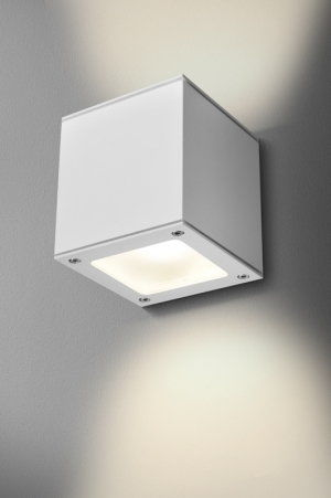 Kinkiet Maxi Cube LED hermetic 25661 Aqform
