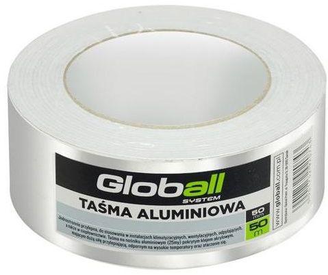 Taśma aluminiowa 50 mm x 50 m GLOBALL