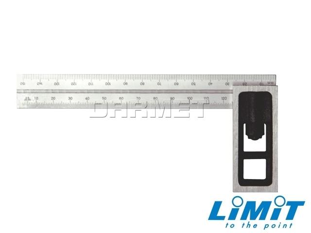 Kątownik regulowany z przesuwnym ramieniem 100x70 mm - Limit 151250107