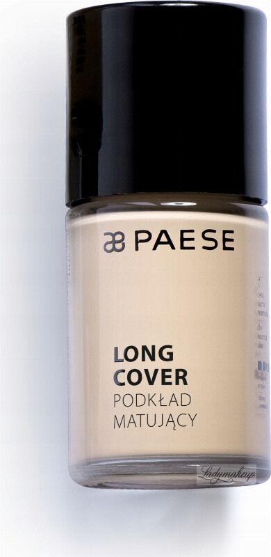 PAESE - LONG COVER - Podkład matujący - 02M