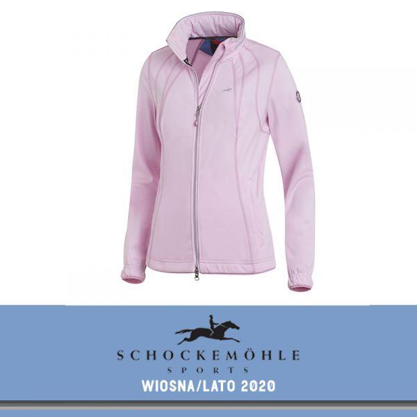 Kurtka softshell LAURA SS20 - Schockemohle - dusty rose